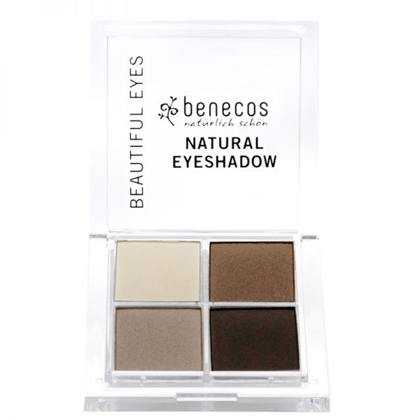 Vegan Natural eyeshadow set. Colour - Coffee & Cream by benecos.