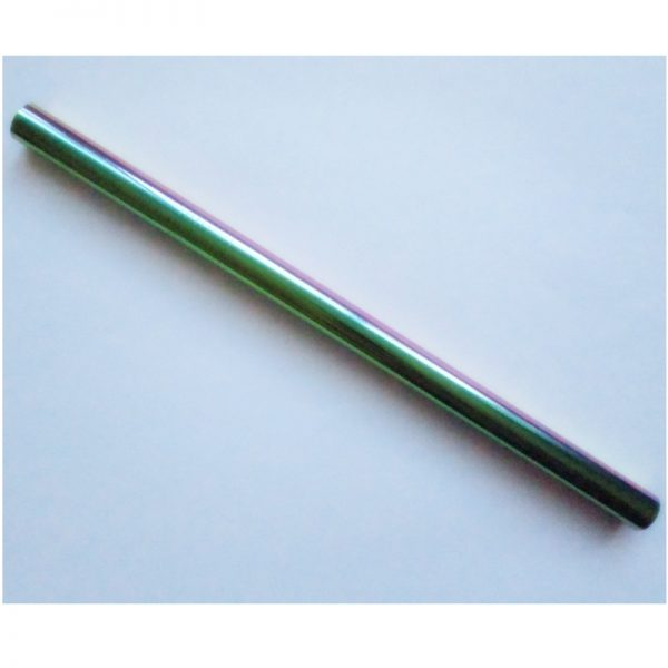 Stainless steel multi coloured eco friendly plastic free smoothie straw