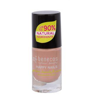 Mauve pink vegan natural nail polish by benecos