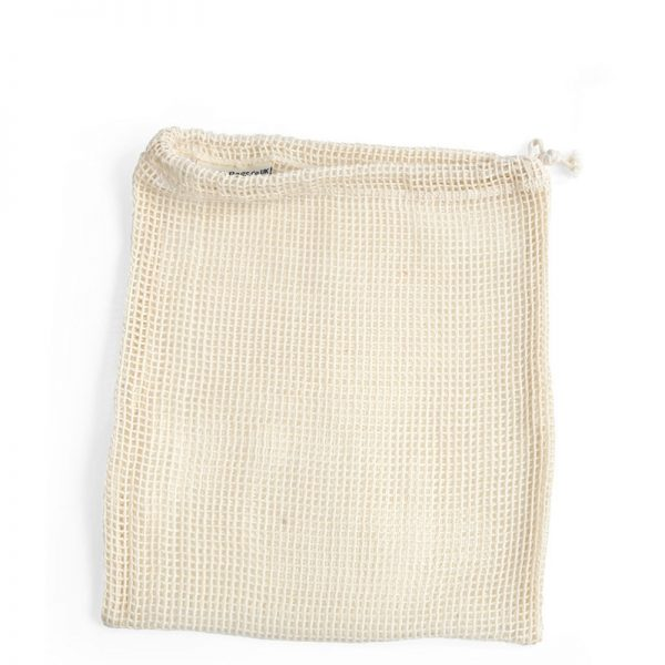Small organic cotton produce bag by turtle bag