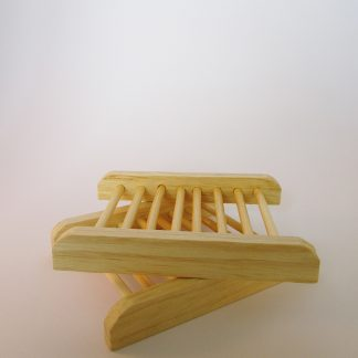 Wooden Soap Dish set