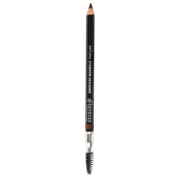 Natural Vegan Eyebrow pencil brown colour by benecos