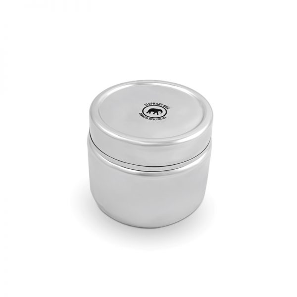 Stainless steel leak proof canister by Elephant Box