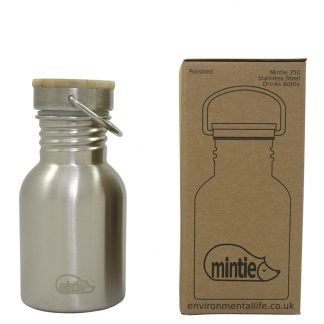 Stainless Steel water bottle by Mintie, 350 ml
