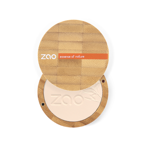 Natural Compact Powder by Zao, Ivory Colour