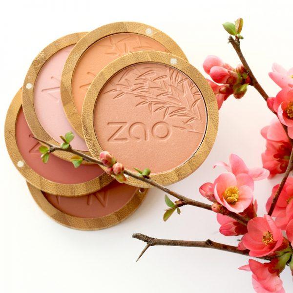 Natural Compact Blush by Zao
