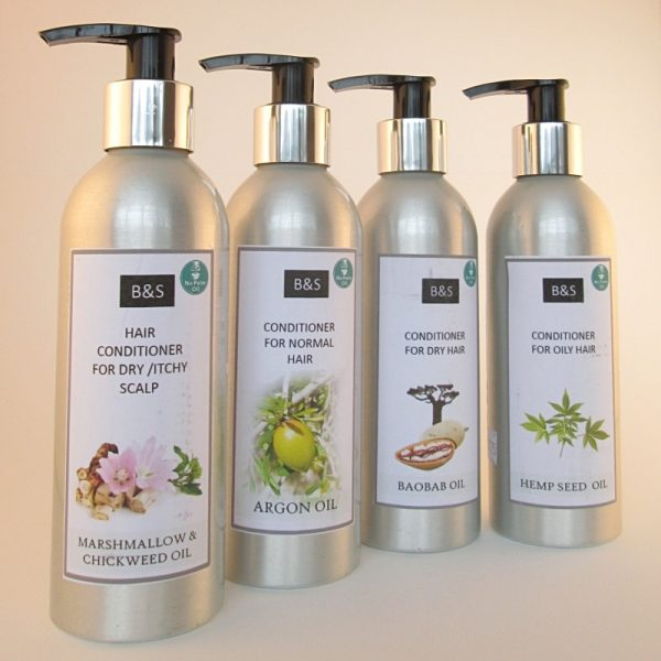 Natural low waste conditioner by Bain and Savon, the selection.