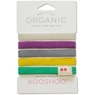 Plastic Free Hair Ties Bobbles. Different Colours by Kooshoo
