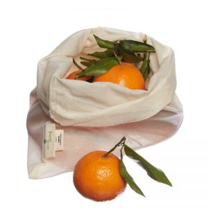 Organic cotton fruit and veg bag