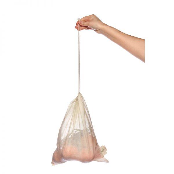 Organic cotton fruit and veg bag