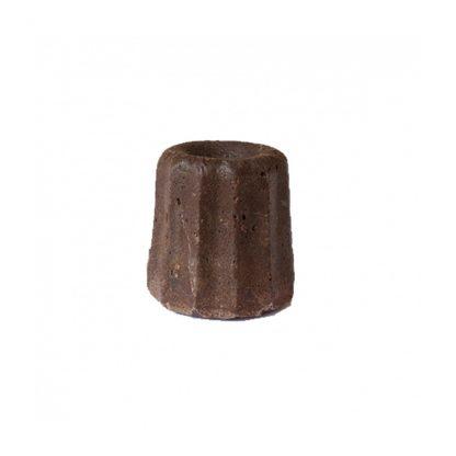 Natural Vegan Shampoo Bar for Normal Hair. Chocolate Scent by Lamazuna.