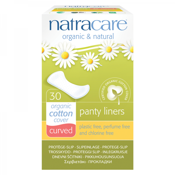 Organic Cotton Panty Liners by natracare