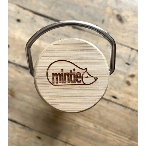 Water Bottle Top with Mintie Logo