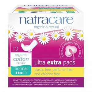 Organic Cotton Sanitary Pads with Wings, Normal by natracare