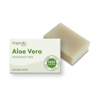 Natural Vegan Aloe Vera Bar of Soap by Friendly