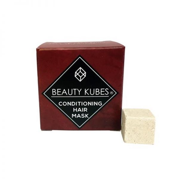 Vegan plastic free conditioner cubes by Beauty Kubes.