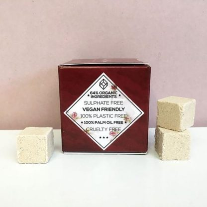 Vegan plastic free conditioner cubes by Beauty Kubes