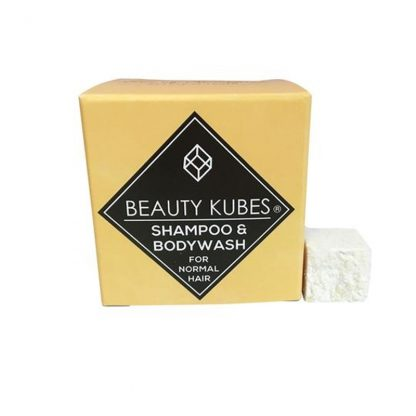 Vegan plastic free shampoo and body wash cubes by Beauty Kubes
