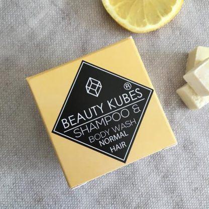 Vegan plastic free shampoo cubes by Beauty Kubes