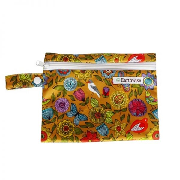 Waterproof Bag for storing sanitary pads Exotic Fabric Pattern