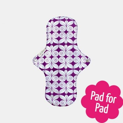 Reusable Sanitary Pad Day Pad Plus by Eco Femme