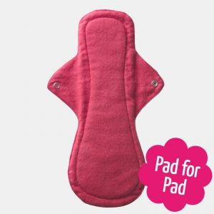Reusable Sanitary Pad Night Pad by Eco Femme