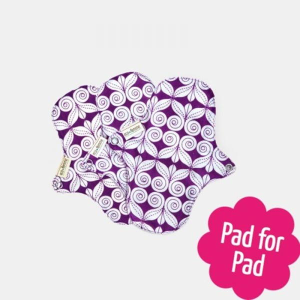Reusable Panty Liners by Eco Femme with PUL