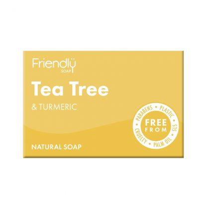Natural Vegan Tea Tree Bar of Soap by Friendly