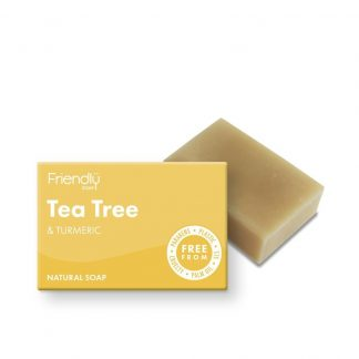 Natural Vegan Tea Tree Bar of Soap by Friendly