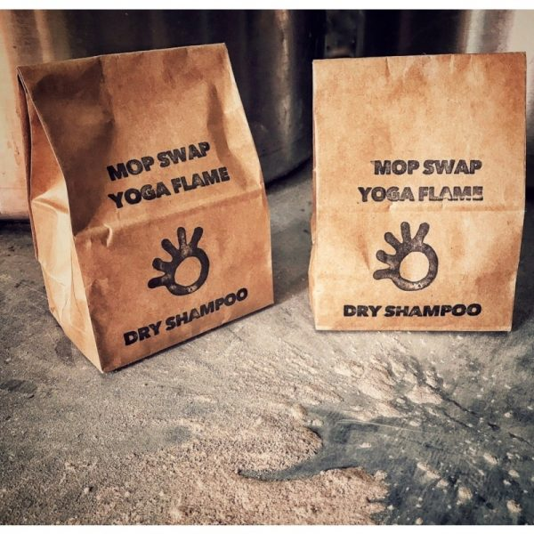 Natural Vegan Dry Shampoo for Red Hair