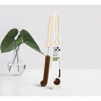 coconut fibre bottle brush. Non-scratch. Plastic free vegan