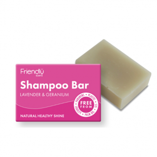 Lavender & Geranium Natural Vegan Shampoo Bar