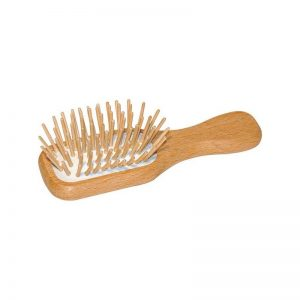 mini wooden brush plastic-free vegan