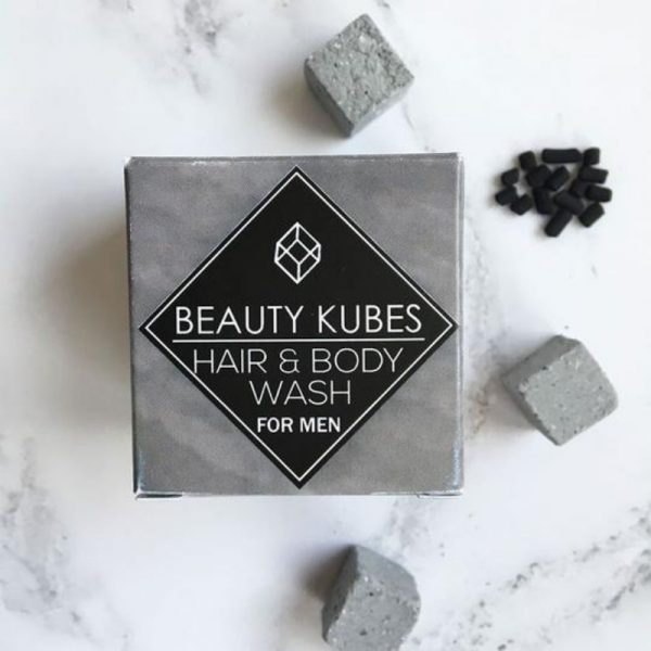 Beauty Kubes Hair and body wash for men