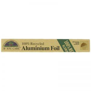 Aluminium foil made from recycled aluminium foil