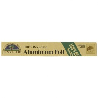 Aluminium foil made from recycled aluminium foil