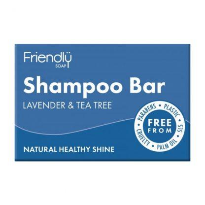 Lavender and Tea Tree Shampoo Bar