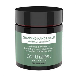 Picture showing name of hand balm.