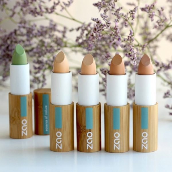Natural Concealer by Zao all the different colours