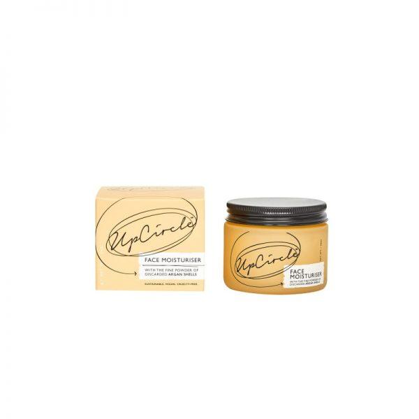 face moisturiser glass jar and box