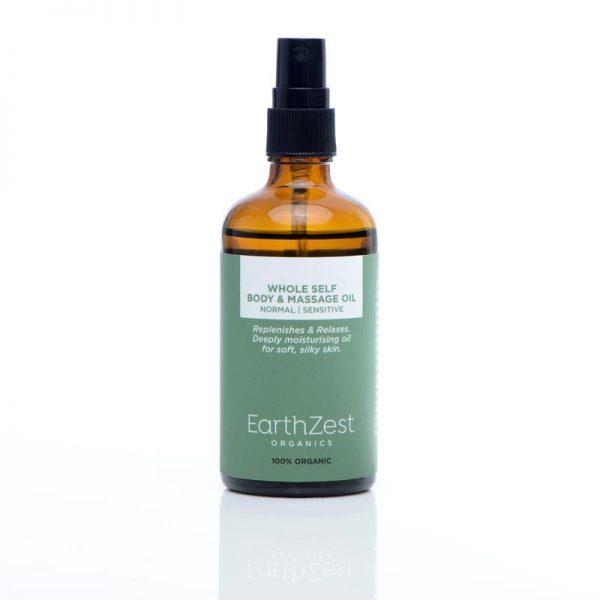 Whole self massage oil