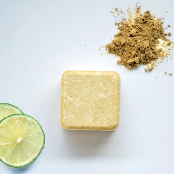 2in1 Solid Shampoo and Conditioner Bar for Dry and Curly Hair