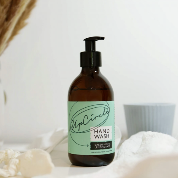 Green mint and lemongrass hand wash