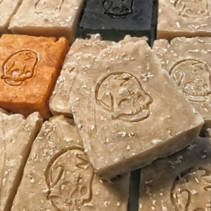 Natural Vegan Bar of Soap by Primal Suds - Skull freshcobar